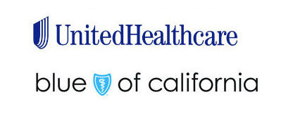 Aetna, United Healcare, and Blue Shield of California Logos